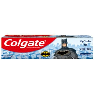 colgate junior batman toothpaste